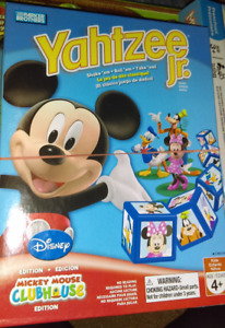 Mickey Mouse Yahtzee Jr Game