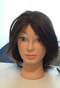 Mannequin hair heads : 2 used CAD$ 60 each,2 new CAD$100each