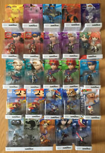 Selling full Amiibo collection - Pokemon, Fire Emblem, etc.