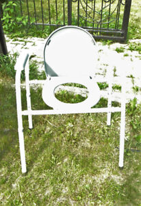 Portable Commode with Adjustable Legs Post-Op Care