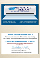 Breathe Clean Ductless Heat Pump Cleaning