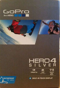 Go Pro hero 4 Silver Edition with Gear!