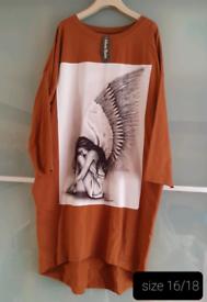 Womens Dress/Tunic size 16/18 NEW