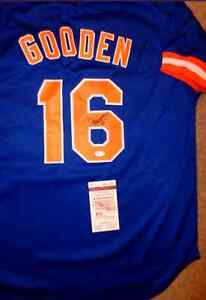 Doc Gooden Signed Mets Jersey with JSA