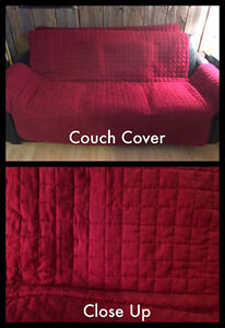 Microsuede Couch Cover