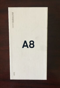 Brand New Unlocked Samsung Galaxy A8, Black, 32GB