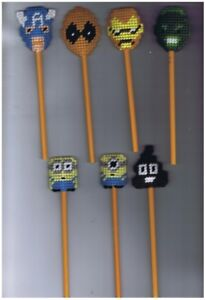 Pencil Toppers - Birthday Favors, School Rewards, Gifts 3/5