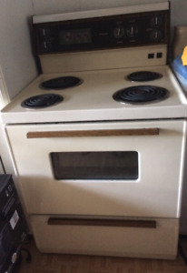 McClary electric full size stove