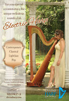 Professional Harpist - Weddings, Events. Contemporary Electric