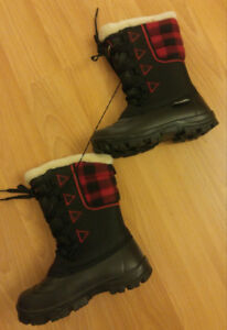 2 Different Styles - Girls Warm Winter Boots - Size 2
