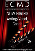 Acting/Vocal Coach for Hire