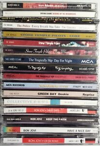Rock and Pop CDs