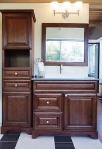 BATHROOM - CLEARANCE - FINAL SALE !  Vanity and more..