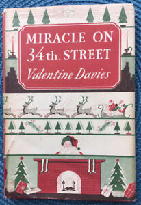 Miracle on 34th Street Stated 1st Edition 1947 by Valentine Davi