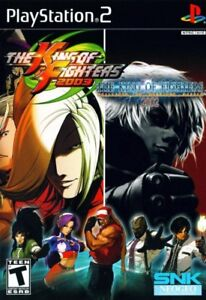 The King of Fighters 2002/2003 PS2 game disc + manual