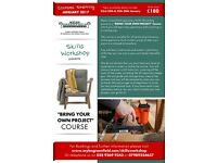 Upholstery courses starting January 2017