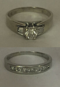 A Classic! Very Sharp looking wedding set
