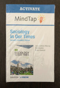 Sociology in Our Times 7th Edition Access Code (MindTap eText)