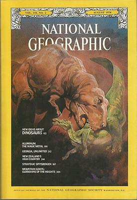 National Geographic August 1978   Dinosaurs   Georgia