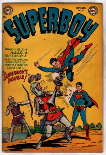 SUPERBOY 17 DC Comics 1951