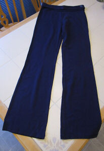"Girls navy yoga pants from Justice in size 16 (32"" inseam)"