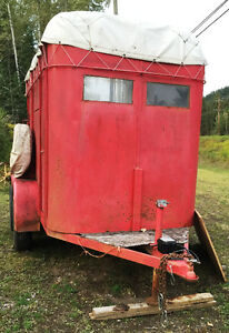 2-horse straight haul trailer- great condition- all ready to go Williams Lake Cariboo Area image 2