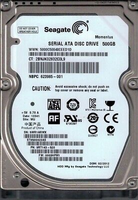 NEW Seagate ST9500423AS 2.5