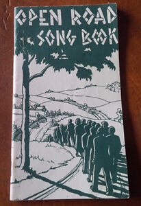 Open Road Song Book, 29 Songs, Pocket Size