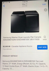 BRAND NEW SAMSUNG WASHER AND DRYER FOR SALE !!!!!!!!!!!!!!!!!!!
