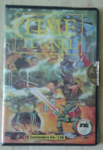 TIME TUNNEL FLOPPY C64 COMMODORE VINTAGE GAME