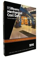 2012 RSMeans Mechanical Cost Data Paperback – Like New !
