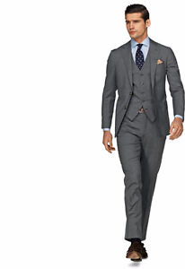 Short and skinny? Suit Supply Suit Grey Kitchener / Waterloo Kitchener Area image 1