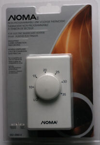 NOMA NON-programable line voltage thermostat
