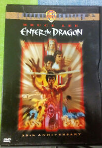 Bruce Lee Enter the Dragon DVD 25th Anniversary Special Edition
