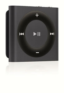 2gb Black iPod Shuffle - Brand New Sealed In Box!