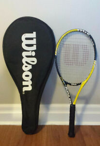Wilson Tennis Racquet, comes with its Full Case/Cover