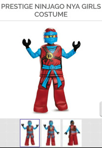 Lego Ninjago Nya Halloween Costume