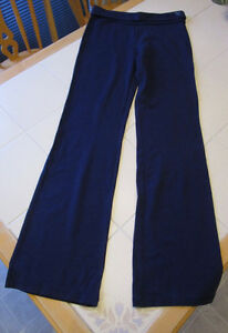 "Girls navy yoga pants from Justice in size 16 *32"" inseam"