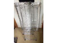Metal shelving racking