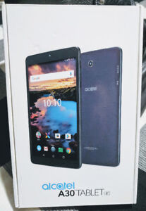 """NEW - Sealed Alcatel A30 8"""" Android Tablet"""