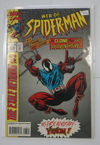 Marvel Comics Web of Spider-man #118 1994