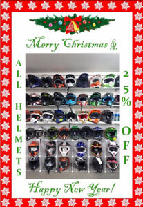 Helmets and Apparel on Sale; Just in Time for Christmas!
