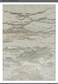 Beige pattern rug **wayfair** 200 x 290