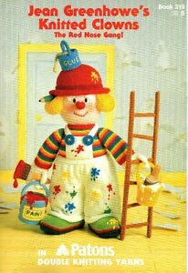 Jean Greenhowe's Knitted Clowns book 319