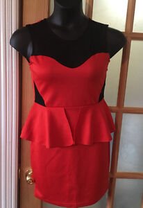 Red dress- size m
