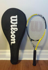 Wilson Tennis Racquet with Case/Cover