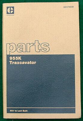 Caterpillar 955k Traxcavator Parts Book 1976 Edition