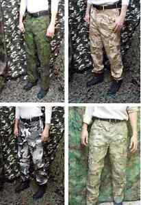 Army & military camouflage pants -
