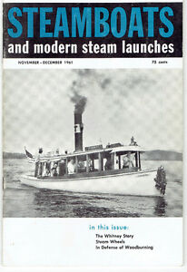 "Nine 1961/62/63 ""Steamboats and Modern Steam Launches"" Magazines Kingston Kingston Area image 3"