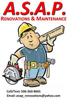 Wanted: Experienced Basement Renovator